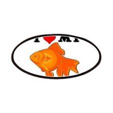 I Love my Goldfish Patches