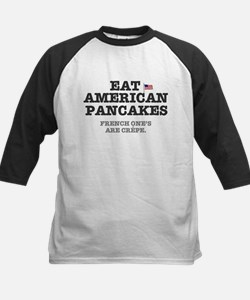 AMERICAN PANCAKES - FRENCH CREPES! Baseball Jersey