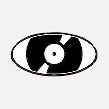 Retro Classic Vinyl Record Patches