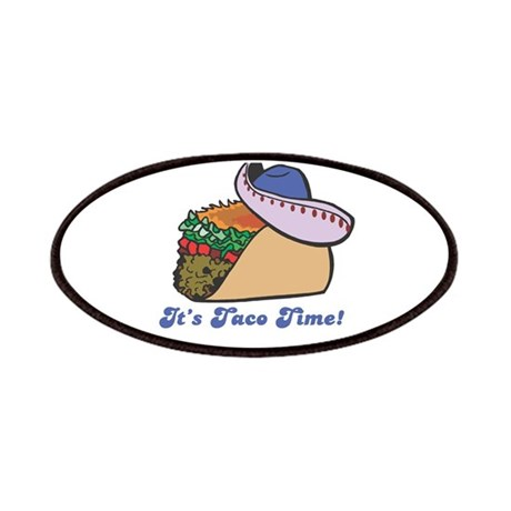 Taco Time (Taco with Sombrero Patches