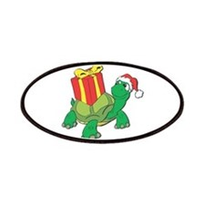 Christmas Turtle Patches