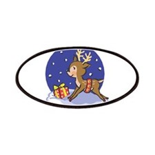 Baby Christmas Reindeer Patches