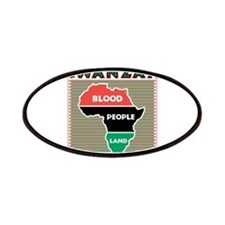 Kwanzaa Blood People Land Des Patches