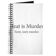 Meat Is Murder Tasty Tasty Murder Journal