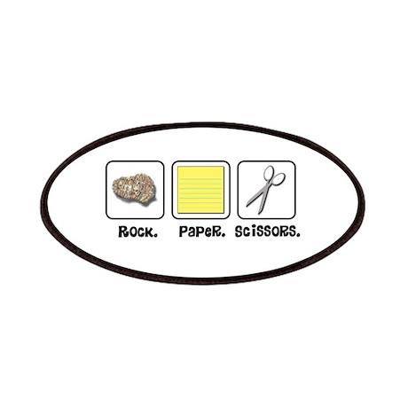 Rock Paper Scissors Patches