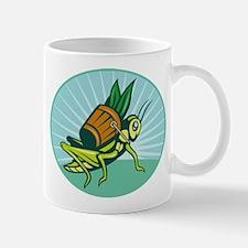 Grasshopper carrying basket Mug