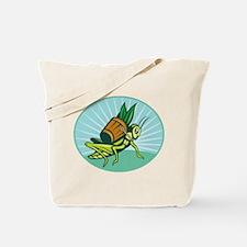 Grasshopper carrying basket Tote Bag