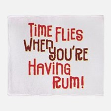 Time Flies - Throw Blanket