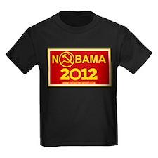 NoBama 2012 Commie Logo T