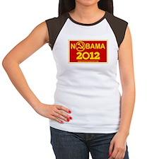 NoBama 2012 Commie Logo Women's Cap Sleeve T-Shirt