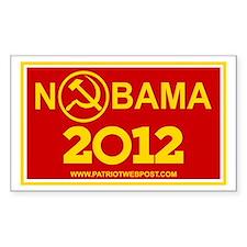 NoBama 2012 Commie Logo Decal