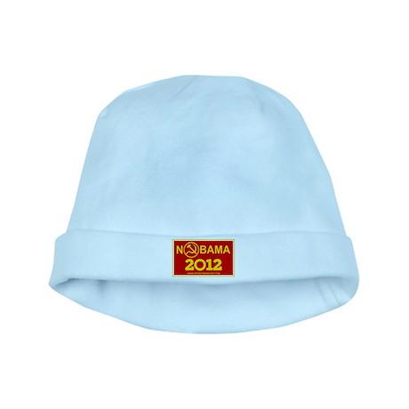 NoBama 2012 Commie Logo baby hat