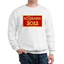 NoBama 2012 Commie Logo Sweatshirt