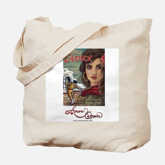 Amore Opera Carmen Tote Bag