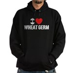I Love Wheat Germ Hoodie (dark)