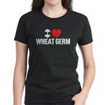 I Love Wheat Germ Women's Dark T-Shirt