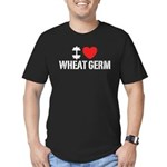 I Love Wheat Germ Men's Fitted T-Shirt (dark)