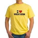 I Love Wheat Germ Yellow T-Shirt