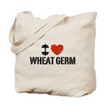 I Love Wheat Germ Tote Bag