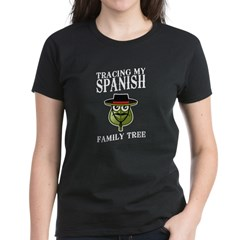 Tracing My Spanish Family Tree Tee
