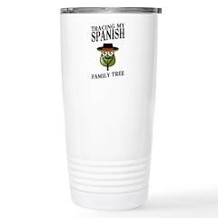 Tracing My Spanish Family Tree Travel Mug