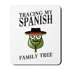 Tracing My Spanish Family Tree Mousepad