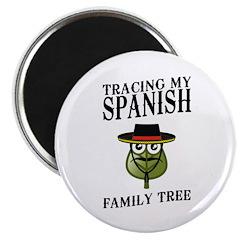 Tracing My Spanish Family Tree Magnet