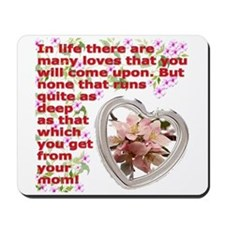 A Mothers day gift Mousepad