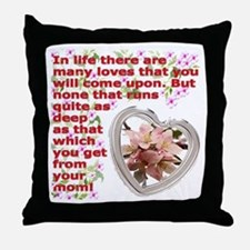 A Mothers day gift Throw Pillow