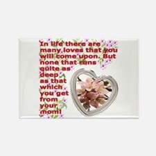 A Mothers day gift Rectangle Magnet