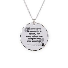 Russell Opinion Quote Necklace