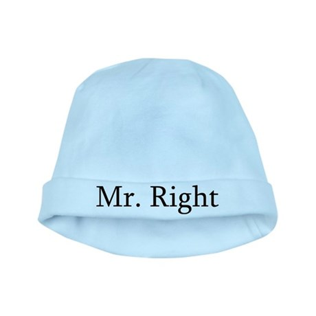 Mr. Right baby hat