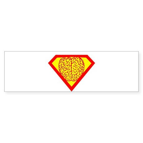 SUPER BRAIN Sticker (Bumper 10 pk)