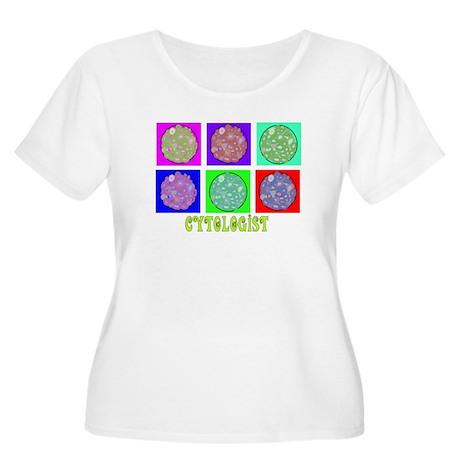Cytologist Women's Plus Size Scoop Neck T-Shirt