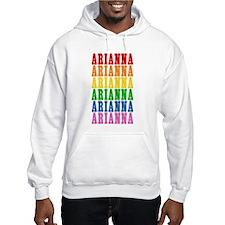 Rainbow Name Hoodie