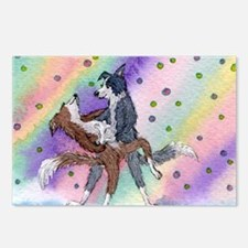 Ballroom dancing dogs Postcards (Package of 8)