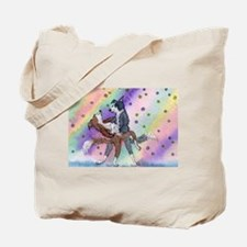Ballroom dancing dogs Tote Bag
