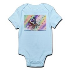 Ballroom dancing dogs Infant Bodysuit