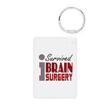 Brain Surgery Survivor Keychains