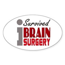 Brain Surgery Survivor Decal