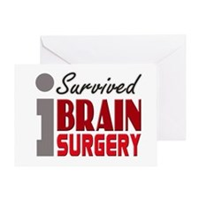Brain Surgery Survivor Greeting Card