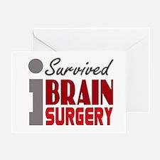 Brain Surgery Survivor Greeting Card