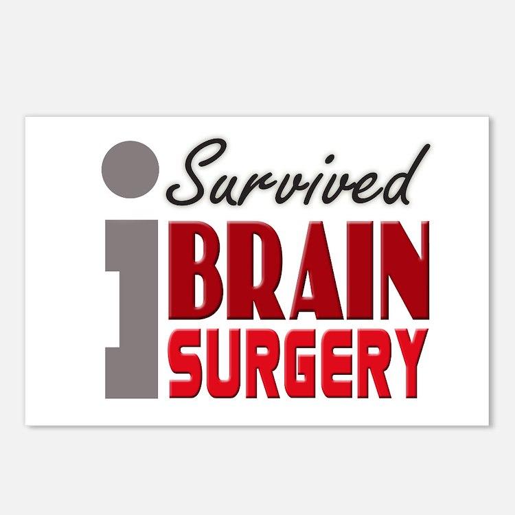 Brain Surgery Survivor Postcards (Package of 8)