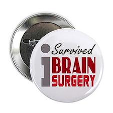 "Brain Surgery Survivor 2.25"" Button"
