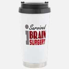 Brain Surgery Survivor Travel Mug