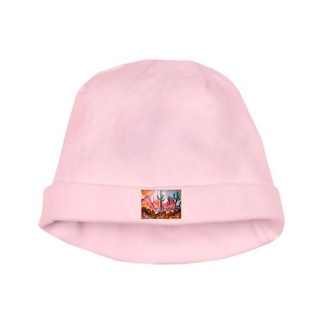 Desert, colorful, baby hat