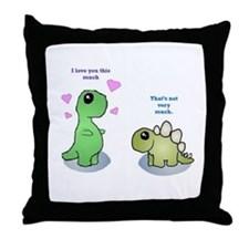 Love you this much Throw Pillow