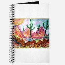 Desert, colorful, Journal