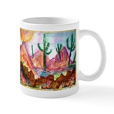 Desert, colorful, Mug