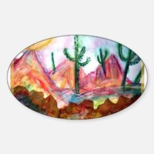 Desert, colorful, Decal